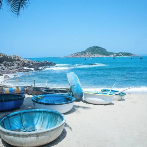 Bãi biển đẹp tại TP Quy Nhơn